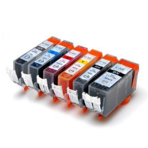 BCI-321+320 / 顔料BK互換インクカートリッジ